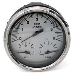Faria Boat Multi-function Gauge Gtc037d   Marquis 4 1/4 Inch Oversized