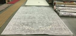 Cream / Grey 9and039 X 12and039 Back Stain Rug Reduced Price 1172630059 Bnt852b-9