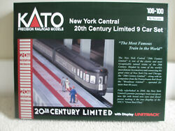 Kato N Scale New York Central 20th Century Limited 9 Car Set Item 106-100