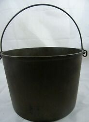 Vintage Griswold Erie 8 Flat Bottom Cast Iron Cook Kettle Pan Cookware 1891