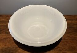Antique J And G Meakin Ironstone China England White Wash Basin Bowl Nouveau