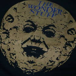 80s The Wonder Stuff Vintage T-shirt Hup Black Cotton Old Toy Real Thing
