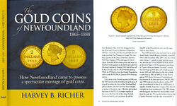 The Gold Coins Of Newfoundland By Harvey B. Richer Book Just Published Canada