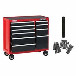 Craftsman Tool Cabinet With Drawer Liner Roll And Socket Organizer, 41-inch, Rolli
