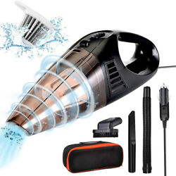 Powerful Car Vacuum Cleaner Wetanddry Portable Handheld Strong Suction Car Vacuum