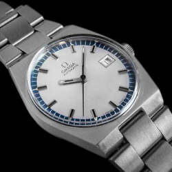 Omega Geneve Automatic 166.099 Date Vintage Menand039s Watch 1971 Wl34564