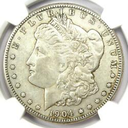 1904-s Morgan Silver Dollar 1 Coin - Certified Ngc Xf45 Ef45 - Rare Date