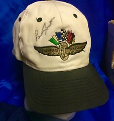 Indianapolis Indy 500 1994 Parnelli Jones Signed Hat Ford Mustang Cobra Pacecar