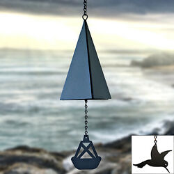 North Country Wind Bells Inc. 113.5016 Cape May Bell With Hummingbird Wind Catc