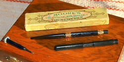 Moore's Fountain Pen And Wirt Nib Fountain Pen Marked The Senator With Taper Cap