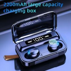 Bluetooth Earbuds for Android Iphone Samsung Wireless Earphone IPX7 Waterproof $17.89