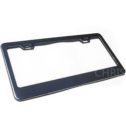 Fit Bmw Audi Ford Honda Toyota Powder Coated Stainless Steel License Plate Frame