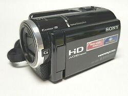 Sony Handycam Hdr-xr260v 160 Gb Avc Camcorder With Charging Cord And Bag