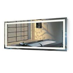 Krugg | Large 60 Inch X 30 Inch Led Bathroom Mirror | Lighted Assorted Sizes