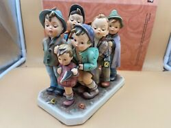 Hummel Figurine 347 The Seven Swabia 7 1/2x7 7/8in 1 Choice - Top Condition