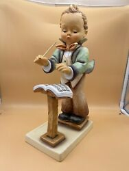 Hummel Figurine 129/iii Man Conductor 13 3/16in 1 Choice - Top Condition