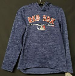Boston Red Sox Authentic Collection Hoodie Youth Medium Nwt Clearance