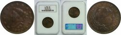 1820 Large Cent Ngc Ms-65 Rb