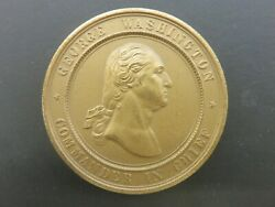 1878 Valley Forge Centennial Medal George Washington