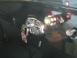 Vintage Jeweled Dash Light Ford Model T A Indian Harley Henderson Motorcycle
