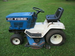 Ford Lgt14d Diesel Lawn Tractor