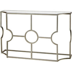 Dimond Home 1114-385 York 54 X 16 Inch Antique Silver/clear Mirror Console Table