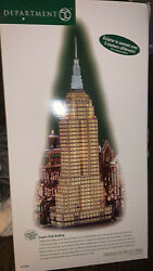 """Rare Dept 56 """"empire State Building"""" Christmas In The City Series With Box"""