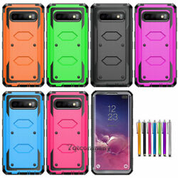 9 Pack Shockproof Hybrid Protective Case Cover For Samsung Galaxy Mobile Phones