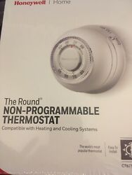 Nib Honeywell Ct87n Round Non Programmable Thermostat For Heating And Cooling