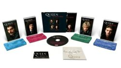 Queen Greatest Hits - Signed Cd, Collectors Cassette Set And Badge Bundle 🔥