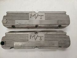 Ford Small Block Vintage Mickey Thompson M/t Valve Covers 260 289 302 351 J17056