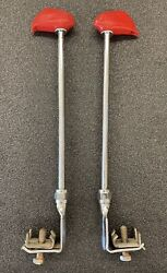 30andrsquos - 40andrsquos Pontiac Indian Chief Head Fender Markers/guides Pair