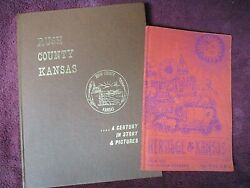 Rush County Kansas - A Century In Story And Pictures And Heritage Of Kansas Books