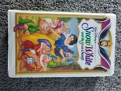 Snow White, Disney Movie, Masterpiece Collection, Very Good Condition, Vhs, 1995