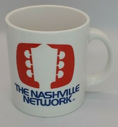 Vintage The Nashville Network Coffee Mug Cup - Free Shipping