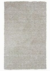 10and039x13and039 Ivory Heather Indoor Shag Rug