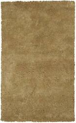 10and039x13and039 Gold Indoor Shag Rug