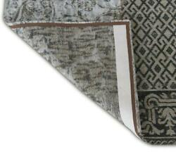 8and039 X 10and039 Black White And Grey Patchwork Design Area Rug