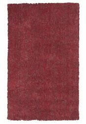 10and039x13and039 Red Heather Indoor Shag Rug