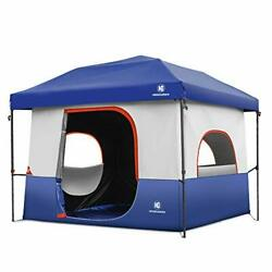 Tents-for-camping-5-person Dark Room Cube Tent Pop Up 10x10 Canopy Uv 50+
