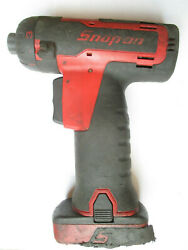 Snap-on Cts761 14.4v Cordless Screwdriver With Battery. 1/4