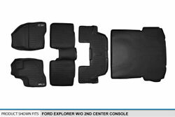 Maxfloormat 1st/2nd/3rd/cargo Liner For 2011-2014 Explorer W/o 2nd Row Console