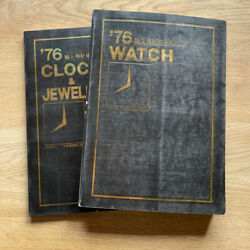 Watch 1976 Japanese Watch Catalogue Guide Rolex Patek Omega 450 Pages