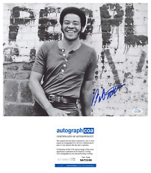 Bill Withers Autographed Signed 11x14 Photo Lean On Me Acoa Racc
