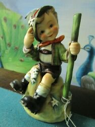 Hummel 315 Mountaineer With Edelweiss Flowers 5 1/4 Tm 4 1954