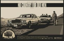 No Country For Old Men By Ken Taylor Ltd X/325 Screen Print Mondo Movie Poster
