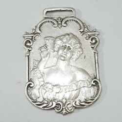 Vintage Drink Coca Cola In Bottles 5 Cents Advertising Key Watch Fob