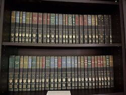 Very Good Britannica Great Books Of The Western World 1984 Complete Set Vol 1-54