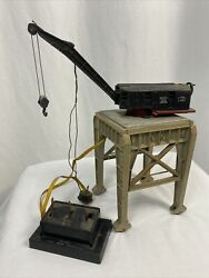 Lionel Lines Bucyrus Erie Class 250 Railroad Crane With Controller And Platform