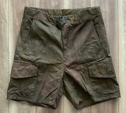 Nigel Cabourn S.a.s Combat Short Camouflage Cotton Size 30 Used From Japan
